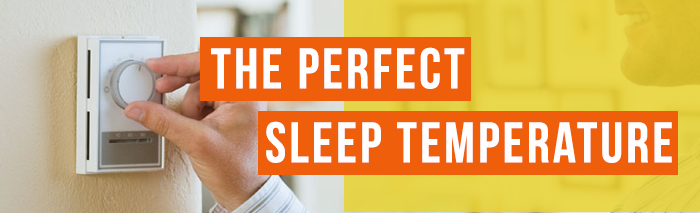 best sleep temperature