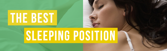 the best positions for sleeping